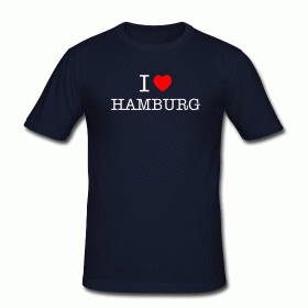 Hamburg T-Shirt I love Hamburg